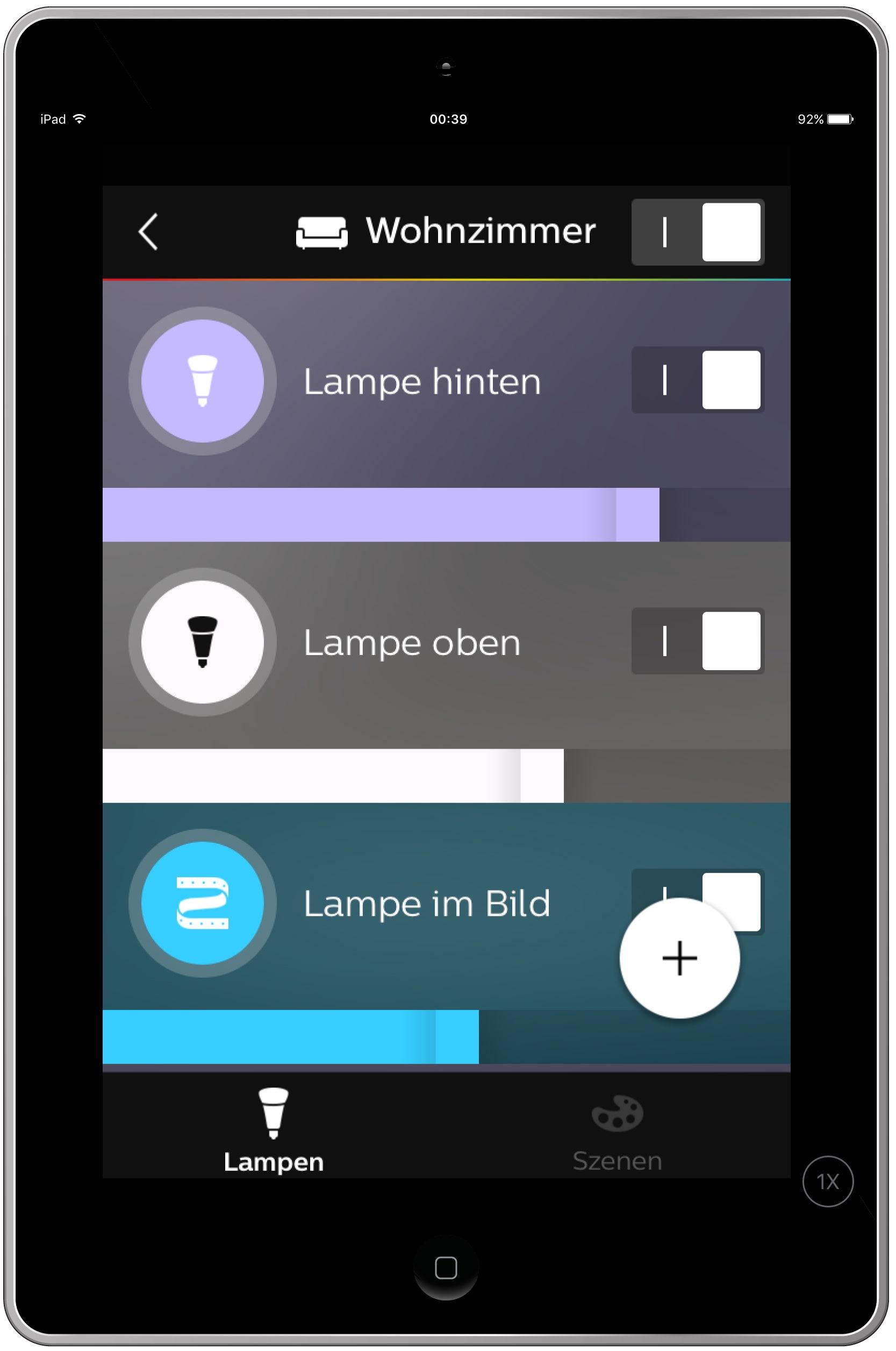 hueapp3 Spannende Lampen Per App Steuern Dekorationen
