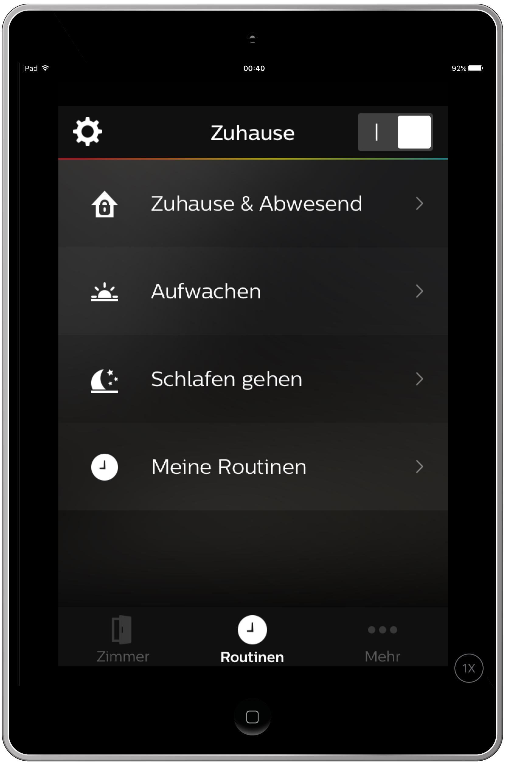 hueapp4 Spannende Lampen Per App Steuern Dekorationen